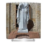 San Antonio Statue Shower Curtain