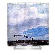 San Benito Sky Shower Curtain