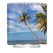 San Blas Dreaming Shower Curtain