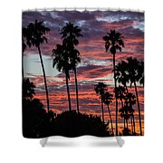 San Clemente Sunset Shower Curtain