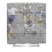 San Diego Chargers Legends Shower Curtain