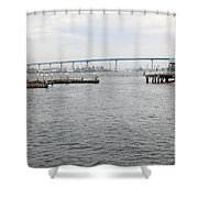 San Diego Coronado Bridge 5d24351 Shower Curtain