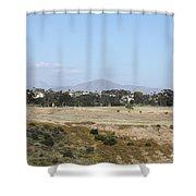 San Diego Desert Shower Curtain
