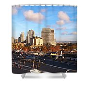 San Diego - From The U S S Midway Shower Curtain
