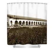 San Fernando Mission Circa 1900 Shower Curtain