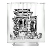 San Fracisco Victorian2 Shower Curtain