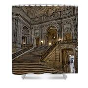 San Fran City Hall Shower Curtain