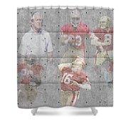 San Francisco 49ers Legends Shower Curtain