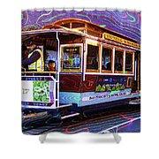 San Francisco Cable Car No. 17 Shower Curtain