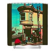 San Francisco 1968 Pop Art Shower Curtain
