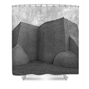 San Francisco De Asis Mission Church Shower Curtain