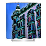 San Francisco Glow By Diana Sainz Shower Curtain