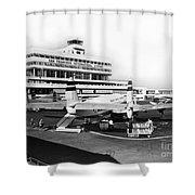 San Francisco International Airport Passenger Terminal Circa 195 Shower Curtain