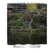 San Francisco Japanese Garden Shower Curtain