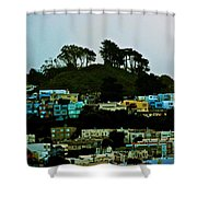 San Francisco Neighborhood Shower Curtain