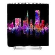 San Francisco Nights Shower Curtain