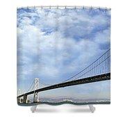 San Francisco Oakland Bay Bridge Shower Curtain