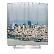 San Francisco Panorama Shower Curtain