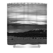 San Francisco Peaks From Williams Shower Curtain