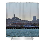 San Francisco Skyline -2 Shower Curtain