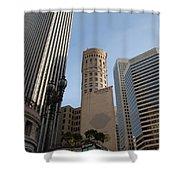 San Francisco Skysrappers Shower Curtain