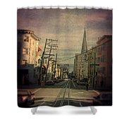 San Francisco Street Shower Curtain