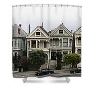 San Francisco - The Painted Ladies Shower Curtain