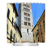 San Frediano Tower Shower Curtain