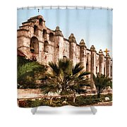 San Gabriel Mission 1899 Shower Curtain by Unknown