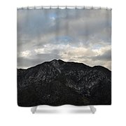 San Gabriel Mountains Evening Shower Curtain