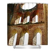 San Galgano Shower Curtain