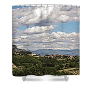 San Gemini 2 Shower Curtain