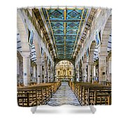 San Gil Cathedral  Shower Curtain