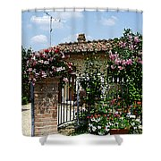 San Gimignano Beauty Of Tuscany  Shower Curtain