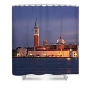 San Giorgio Maggiore Island Venice Italy Shower Curtain