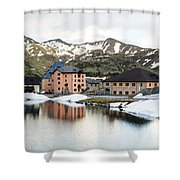 San Gottard Pass Shower Curtain
