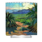 San Jacinto Visitors Center Shower Curtain