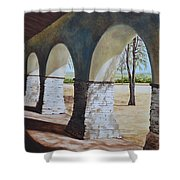 San Juan Bautista Mission Shower Curtain