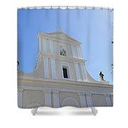 San Juan Bautista Shower Curtain