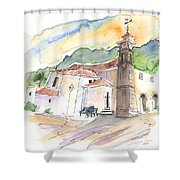 San Juan De La Rambla 05 Shower Curtain