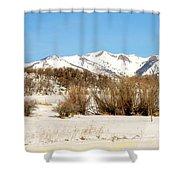 San Juan Mountains No. 1 Shower Curtain