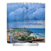 San Juan Puerto Rico Shower Curtain