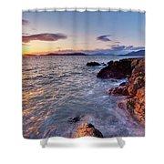 San Juans Serenity Shower Curtain