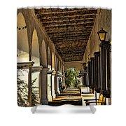 San Luis Rey Mission - California Shower Curtain