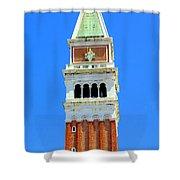 San Marco Campanile Shower Curtain