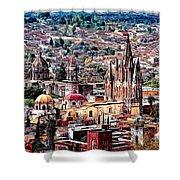 San Miguel De Allende Shower Curtain