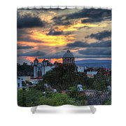 San Miguel De Allende Sunset Shower Curtain