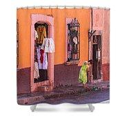 San Miguel Shop Shower Curtain