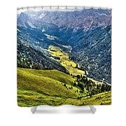 San Nicolo' Valley - Italy Shower Curtain