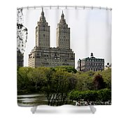 San Remo Towers Nyc Shower Curtain
